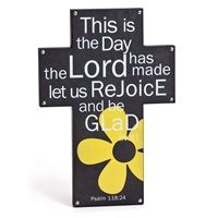 This is the Day the Lord has made let us Rejoice and be Glad.....love the cross