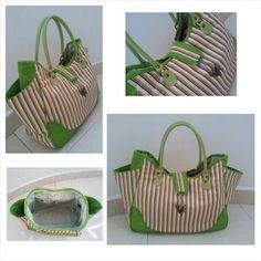 Stripy Shoulder Bag