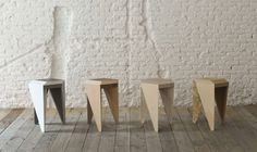 The Rayuela Stool is a low table and stool that obtains beautiful colored repeating patterns by placing them together. http://vurni.com/multifunctional-furniture-ideas/
