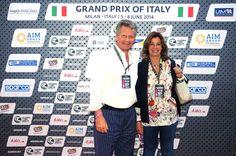 Augusto e Tana Ruffo di Calabria