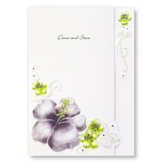 Grand Hibiscus Wedding Invitations by TheAmericanWedding.com  I like the pink version of this
