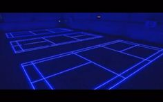 Interactive floor changes as you choose a sport - NY Daily News