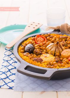 arroz al horno receta paso a paso Diet Recipes, Healthy Recipes, Paella Recipe, Avocado Recipes, Food Safety, Food Humor, Everyday Food, Safe Food, Brunch