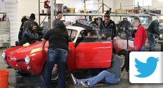 High School Students Build Car Fueled by Social Media Likes, Shares, and Tweets - Social media has been praised for driving traffic on the Internet, but now it's driving real traffic on the interstates. A group of high school students and their mentors in Kansas City recently modified a 1967 Karmann Ghia so it was only able run when mentioned in social media. More than just powering a car, the project helped empower these students... #MINDDRIVE