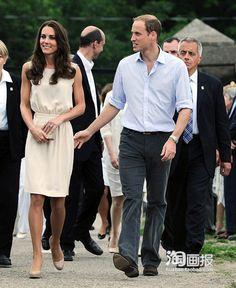 2013-summer-sleeveless-white-chiffon-one-piece-dress-medium-long-slim-kate-middleton-white-skirt.jpg 620×757 pixels