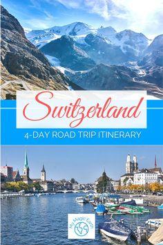 Switzerland Travel Guide, Switzerland Itinerary, Lucerne Switzerland, Europe Travel Guide, Travel Guides, Jungfraujoch, Hidden Places, Places In Europe, Swiss Alps