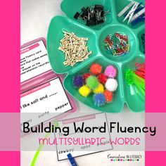 Decoding Multisyllabic WordsDecoding Multisyllabic Words  with Word Triangles and Sentence Comprehension task cards! Perfect for quick word work during guided reading and for literacy centers! #phonics #fluency #literacycenters #guidedreading #readinginterventions #RTI #wordwork #backtoschool first grade, second grade, third grade, fourth grade, fifth grade