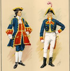 C. Urbez, Capitanes de navío 1715-1775, respectivamente.
