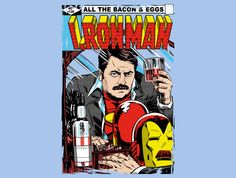 I, Ron Man T-Shirt - Ron Swanson T-Shirt is $11 today at TeeFury!