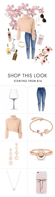 """""""Rosé the time away"""" by emma-m-t ❤ liked on Polyvore featuring Ann Demeulemeester, Disney, Rebecca Minkoff, Marie Mas, Tiffany & Co. and Carla Zampatti"""