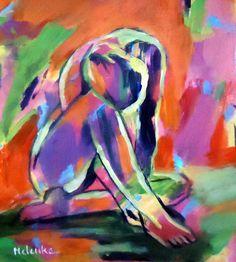 """Saatchi Art Artist: Helena Wierzbicki; Acrylic 2014 Painting """"""""Sorrows"""""""""""