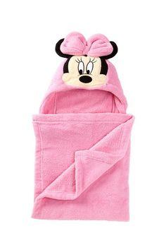 Minnie Mouse Fleece Hooded Wrap