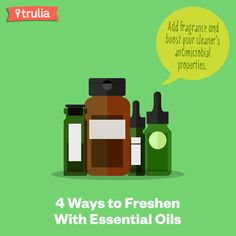 Wow had no idea essential oil had so many cleaning powers! Great for around the house.