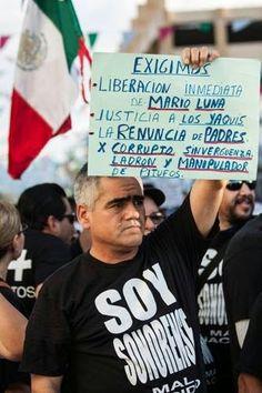 MÉXICO: CONTINÚA LA REPRESIÓN, DETIENEN A OTRO MIEMBRO DE LA TRIBU YAQUI