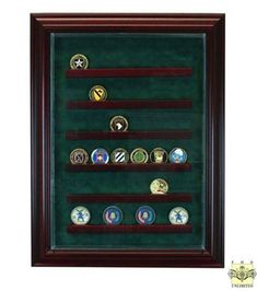 Challenge Coin Display Case - 36 Coin
