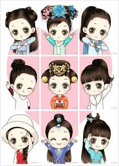 Cartoon Pics, Cute Cartoon, Anime Chibi, Kawaii Anime, Copic Marker Art, Fan Anime, Manga Cute, Anime Dolls, Korean Art