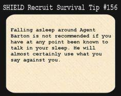 SHIELD Recruit Tip #156