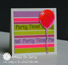 Some fiddling on the kitchen table: Darkroom Door 'Party Time' #1