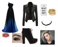 """""""Prom 2"""" by ashleef2002 ❤ liked on Polyvore featuring Smashbox and ABS by Allen Schwartz"""