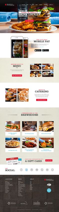Scotty's Brewhouse Website Update