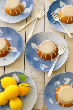 Little Meyer Lemon Cakes / Patty's Food @Patty Price / Patty's Food | #MeyerLemons #cake