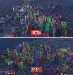 City Evolution: Watch Urban Growth in 3D Visualizations