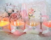 Love the Sparkle! Weddings, Wedding Candles, Tea Light Holder, Wedding Decor, Baby Shower Decor
