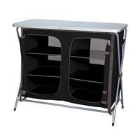 The Kiwi Camping 6 Tier Pantry Cupboard features an alloy frame, durable polyester cover, side accessory pockets and a mesh rear for ventilation. Kitchen Storage, Locker Storage, Pantry Cupboard, Camping Furniture, Outdoor Brands, Extra Storage, Kiwi, China Cabinet, Shoe Rack
