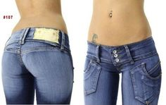 Brazilian Style Jeans - #107