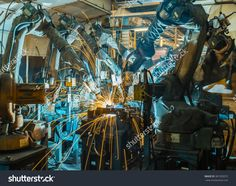 Find Welding Robots Movement Car Factory stock images in HD and millions of other royalty-free stock photos, illustrations and vectors in the Shutterstock collection. Thousands of new, high-quality pictures added every day. Welding, Robots, Photo Editing, Royalty Free Stock Photos, Big, Illustration, Image, Editing Photos, Soldering