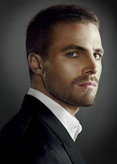 Only seen a few eps of arrow so not sure how great of an actor he is but he's super cute....got the Christian Grey look