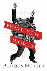 Brave New World By Aldous Huxley - This classic work of dystopian science fiction offers a satirical and disturbing view of the future — a world in which strict class roles are reinforced by genetic manipulation and family, freedom, and love are considered grotesque.