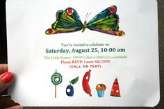 """A """"Very Hungry Caterpillar"""" themed baby shower"""