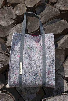Torba [filc z recyklingu] 3 (proj. Decorozja), do kupienia w DecoBazaar.com