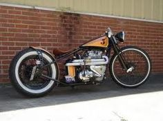 Dan or SuperCrouton builds beautiful Triumph Bobbers. The bikes are stunning and th. Triumph Bonneville, Bobber Bikes, Bobber Motorcycle, Bobber Chopper, Vintage Bikes, Vintage Motorcycles, Custom Motorcycles, Bobbers