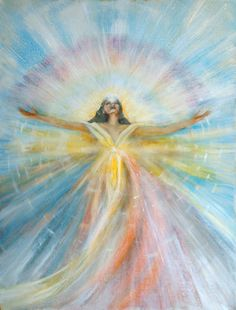 """Angel of Possibilities"", by Joyce Huntington  #spiritual #art #angels"