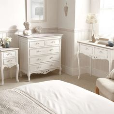 Toulouse White Bedroom Collection Dunelm Bedroom Pinterest - Toulouse bedroom furniture white