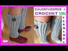 Crochet Tutorial, Leg Warmers, Knitting, Accessories, Macrame, Youtube, Exercise, Fashion, Crochet Necklace