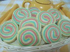 Espirales de galleta