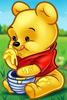 How to draw chibi winnie the pooh - Hundreds of drawing tuts on this site