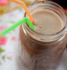 double chocolate bourbon egg cream - add it to the list for dad!