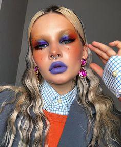 Edgy Makeup, Cute Makeup, Pretty Makeup, Makeup Art, Beauty Makeup, Hair Makeup, Makeup Trends, Makeup Inspo, Makeup Inspiration