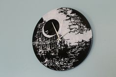 Death Star clock by Mod Mischief, via Flickr
