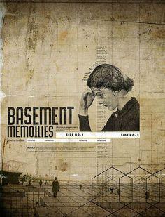 Basement Memories // Digital Collage by Rodrigo de Filippis