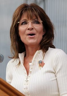 Sarah Palin Flag Pin