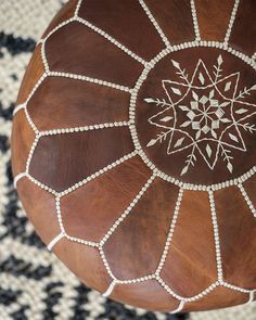 💖 Moroccan Pouf, so-called Leather Ottoman. Our Handmade Designer poufs are great as Anniversary or Wedding gift this Season Moroccan Leather Pouf, Moroccan Pouf, Moroccan Decor Living Room, Living Room Decor, Morrocan Decor, Moroccan Bedroom, Moroccan Lanterns, Moroccan Interiors, Moroccan Design