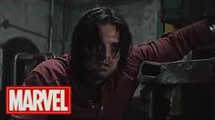 Marvel movies are full of action, but some of the most exciting scenes happen after the credits have rolled. With Captain America: Civil War opening this week, Bucky Barnes Captain America, Captain America Civil War, Sebastian Stan, Marvel Dc Comics, Marvel Avengers, Bucky And Steve, Stucky, Winter Soldier, Guardians Of The Galaxy