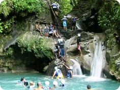 27 Waterfalls of Damajagua, DR. You get to jump or slide down 27 beautiful waterfalls. Fun but scary because of heights. A must do.