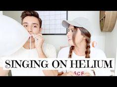 SINGING ON HELIUM WITH MY FIANCE - YouTube