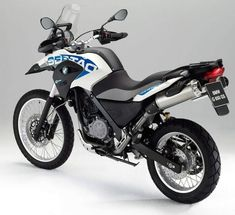 BMW G 650 GS (the brother of the husq)